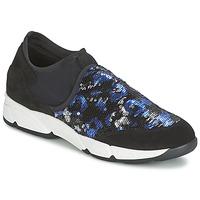 kengät Naiset Tennarit Meline LEO Musta / Sininen