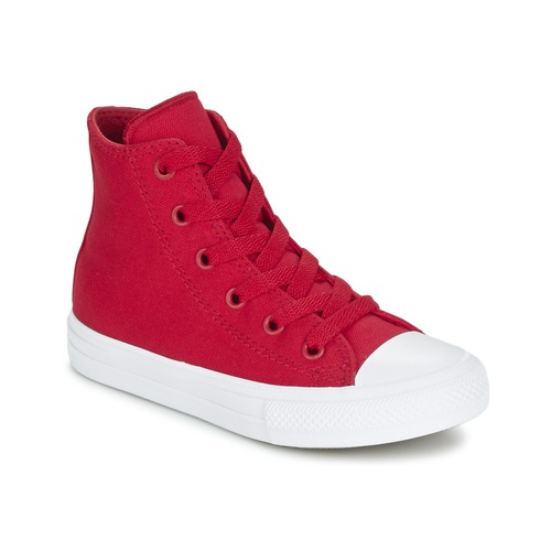 kengät Lapset Korkeavartiset tennarit Converse CHUCK TAYLOR All Star II HI Red