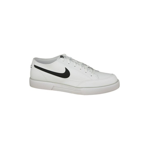 kengät Miehet Matalavartiset tennarit Nike Gts 12 Leather 525307-100 White