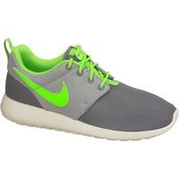 kengät Pojat Matalavartiset tennarit Nike Roshe One Gs 599728-025 Green,Grey,White