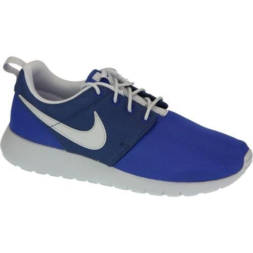 kengät Pojat Matalavartiset tennarit Nike Roshe One Gs 599728-410 Blue