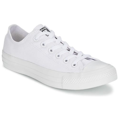 kengät Matalavartiset tennarit Converse CHUCK TAYLOR ALL STAR MONO OX White