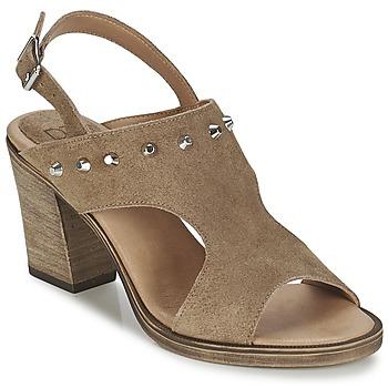 kengät Naiset Sandaalit ja avokkaat Betty London EGALIME TAUPE