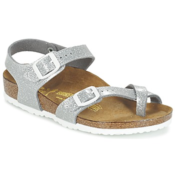 kengät Tytöt Sandaalit ja avokkaat Birkenstock TAORMINA Hopea
