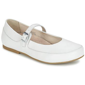 kengät Naiset Balleriinat Birkenstock LISMORE White
