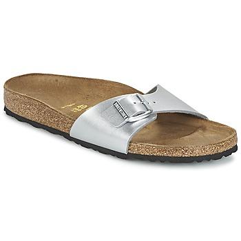 kengät Naiset Sandaalit Birkenstock MADRID Silver
