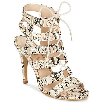 kengät Naiset Sandaalit ja avokkaat Ravel OMAK BEIGE / Python