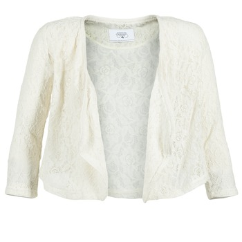 vaatteet Naiset Takit / Bleiserit Le Temps des Cerises ILONA White