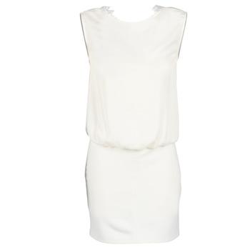 vaatteet Naiset Lyhyt mekko Le Temps des Cerises SHEILA White