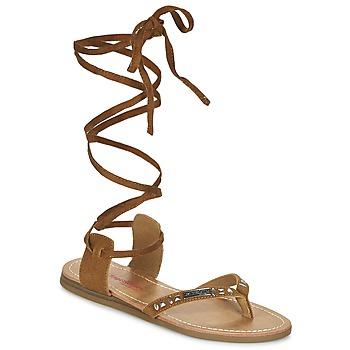 kengät Naiset Sandaalit ja avokkaat Les Tropéziennes par M Belarbi GALTANO CAMEL