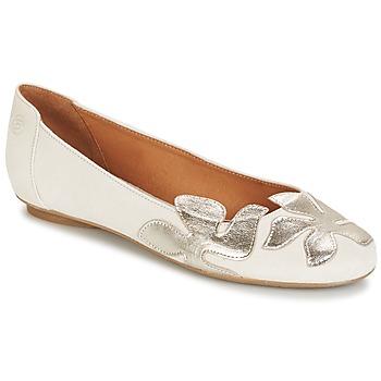 kengät Naiset Balleriinat Betty London ERUNE White / Hopea