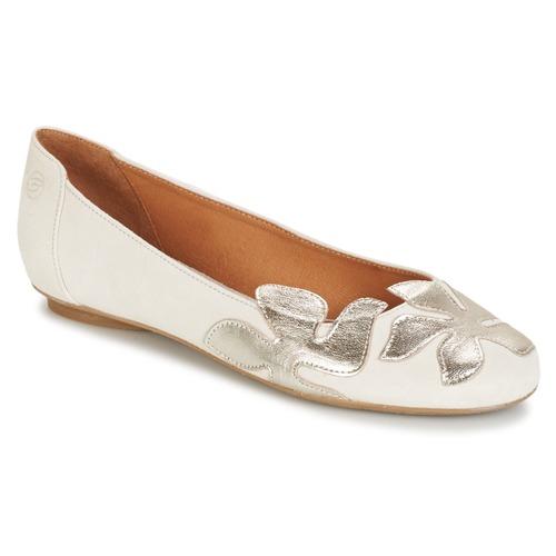 kengät Naiset Balleriinat Betty London ERUNE White / Argenté