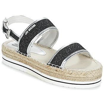 kengät Naiset Sandaalit ja avokkaat Love Moschino SIMONA Black