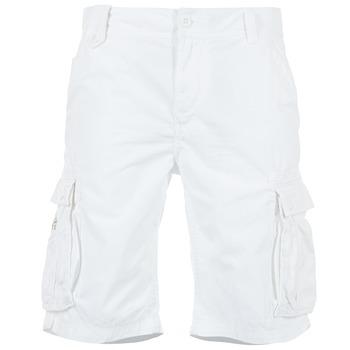 vaatteet Miehet Shortsit / Bermuda-shortsit Kaporal KORGE White