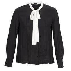 vaatteet Naiset Paitapusero / Kauluspaita Joseph VICTOIRE Musta