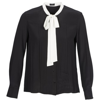 vaatteet Naiset Paitapusero / Kauluspaita Joseph VICTOIRE Black