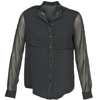 vaatteet Naiset Paitapusero / Kauluspaita Joseph PRINCIPE Musta