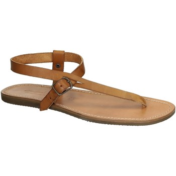 kengät Naiset Sandaalit ja avokkaat Gianluca - L'artigiano Del Cuoio 592 U CUOIO GOMMA Cuoio