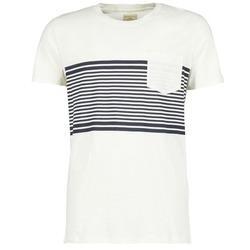 vaatteet Miehet Lyhythihainen t-paita Selected LIAM White
