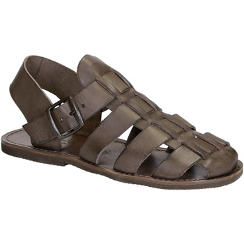 kengät Naiset Sandaalit ja avokkaat Gianluca - L'artigiano Del Cuoio 502 U FANGO GOMMA Fango