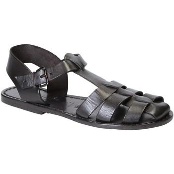 kengät Naiset Sandaalit ja avokkaat Gianluca - L'artigiano Del Cuoio 501 D NERO CUOIO nero
