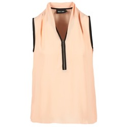 vaatteet Naiset Topit / Puserot Only FIA ZIP Orange / Pastel / Black