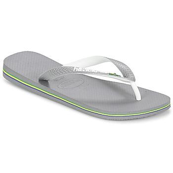 kengät Varvassandaalit Havaianas BRASIL MIX Harmaa