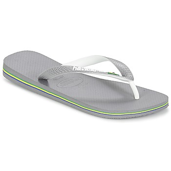 kengät Varvassandaalit Havaianas BRASIL MIX Grey