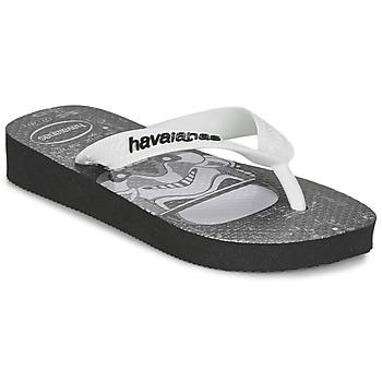 kengät Pojat Varvassandaalit Havaianas STAR WARS Musta / Valkoinen
