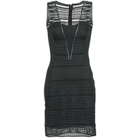 vaatteet Naiset Lyhyt mekko Morgan RHONE Black