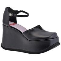 kengät Naiset Korkokengät Planisphere  Musta