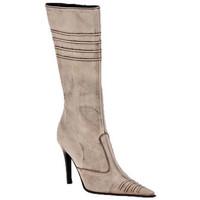 kengät Naiset Saappaat Planisphere  Beige