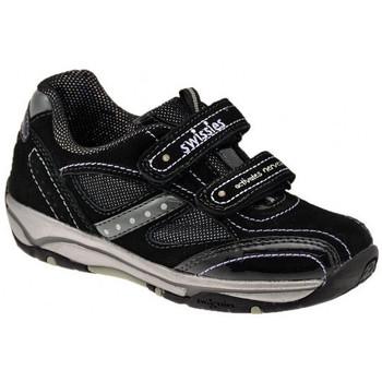 kengät Lapset Matalavartiset tennarit Swissies  Musta