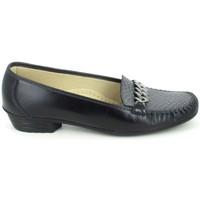 kengät Naiset Mokkasiinit Boissy Binome Noir Gris Musta