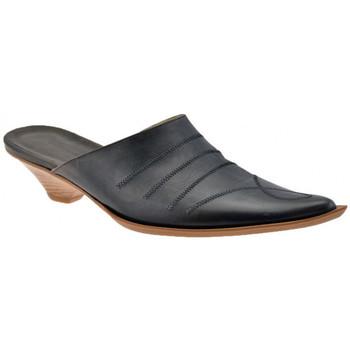 kengät Naiset Puukengät No End  Musta