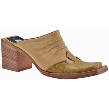 kengät Naiset Puukengät No End  Beige