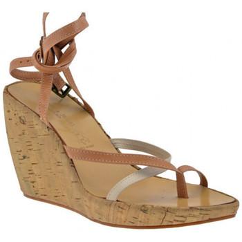 kengät Naiset Varvassandaalit Janet&Janet  Beige