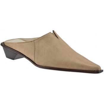 kengät Naiset Puukengät Janet&Janet  Beige