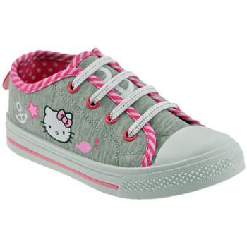 kengät Lapset Matalavartiset tennarit Hello Kitty  Harmaa