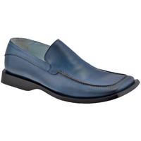 kengät Miehet Mokkasiinit Lancio  Sininen