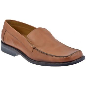 kengät Miehet Mokkasiinit Lancio  Ruskea