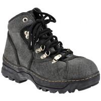 kengät Miehet Vaelluskengät Lumberjack  Musta