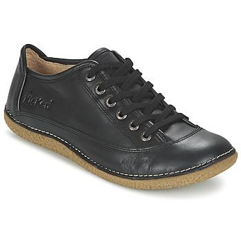 kengät Naiset Derby-kengät Kickers HOLLYDAY Black