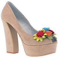 kengät Naiset Korkokengät Osey  Beige