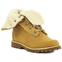 kengät Tytöt Bootsit Timberland C 2236B,A156N Jaune