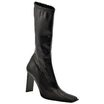 kengät Naiset Saappaat Strategia  Musta