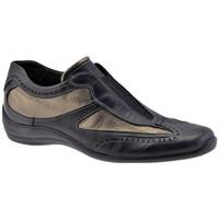kengät Naiset Korkeavartiset tennarit Stonefly  Musta