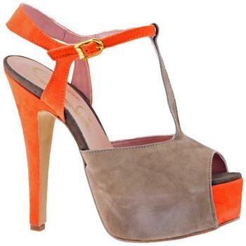 kengät Naiset Korkokengät Cuomo  Ruskea