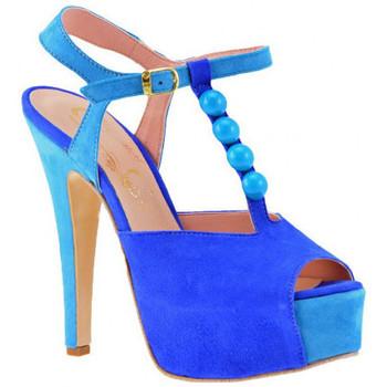 kengät Naiset Korkokengät Cuomo  Sininen