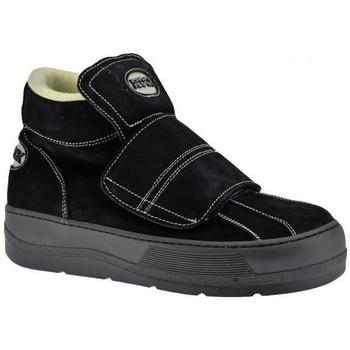 kengät Miehet Korkeavartiset tennarit Rock  Musta